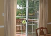 diy sliding glass door curtains