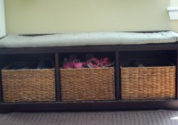 diy storage bench with cushion