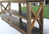 Diy Tv Console Table