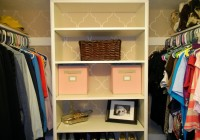 Do It Yourself Closet Organizer