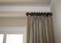 door panel curtain rods