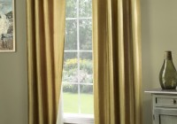 Door Window Curtains With Solid Color
