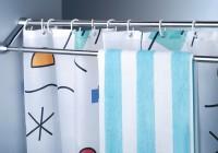 double bar shower curtain rod