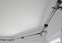 Double Bay Window Curtain Rod