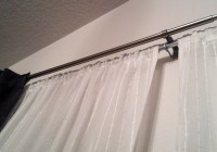 double curtain rods ikea