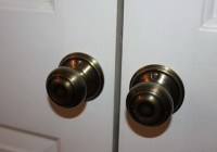 Double Door Closet Hardware