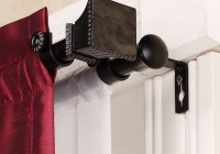 Double Rod Curtain Set