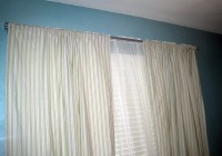 Double Rod Curtains For Bedroom