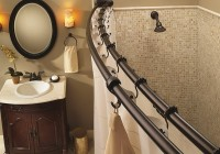 Double Shower Curtain Rod Straight