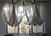 Draped Material For Curtains