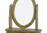 Dressing Table With Mirror In Bedroom