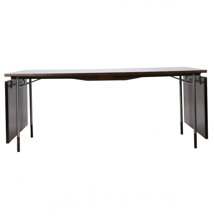 Permalink to Drop Leaf Console Table Black