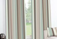 Duck Egg Blue Striped Curtains