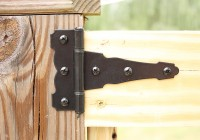 Easy To Install Outdoor Deck Gates