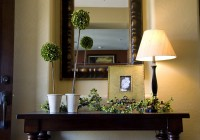 Entryway Console Table Decor