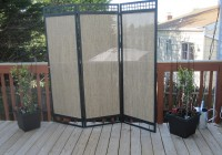 Fabric Privacy Screen For Deck