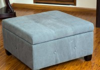 Fabric Square Ottoman Coffee Table
