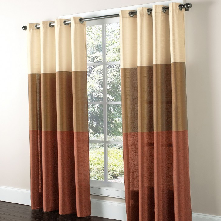 Permalink to Faux Silk Curtain Panels Grommet