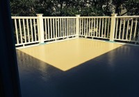 Fiberglass Roof Deck Maintenance