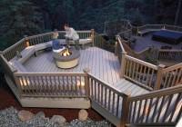 Fire Pit On Wood Deck Plans
