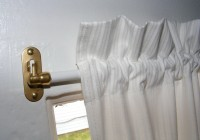 Flat Curtain Rods For Doors