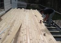 Flat Roof Deck Construction