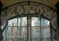 Flexible Curtain Rod For Arched Window