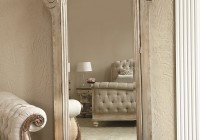 Floor Mirror With Jewelry Storage