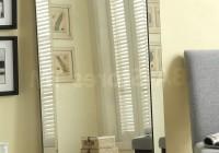 Floor Mirrors Silver Frame