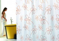Floral Shower Curtains Fabric