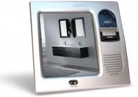 Fogless Shower Mirror With Radio