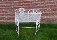Folding Metal Garden Bench
