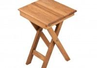 Folding Teak Shower Bench