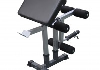 Folding Weight Bench With Preacher Curl Attachment