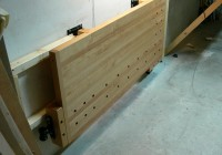 Folding Workbench Wall Mounted