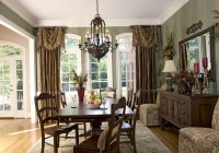 Formal Dining Room Curtain Ideas