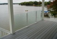 Frameless Glass Deck Railing Systems