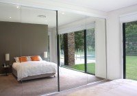 frameless mirror closet doors