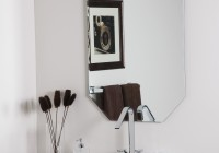 Frameless Mirror Mounting Hardware