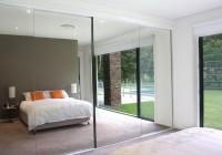 frameless mirrored bifold closet doors