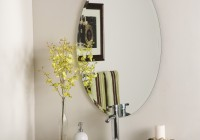 Frameless Wall Mirrors For Bathroom