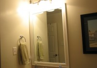 Framing Bathroom Mirror With Molding