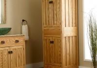 Freestanding Bathroom Linen Closet
