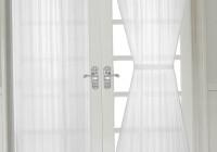 French Door Sheer Curtain Panels