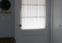 Front Door Window Curtains