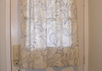 front door window panel curtains