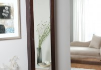 Full Length Mirror With Jewelry Storage Target