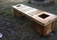 Garden Bench Plans 2×4