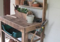 Garden Potting Bench Plans Free