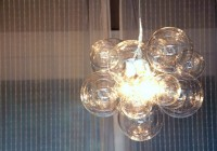 Glass Ball Chandelier Diy